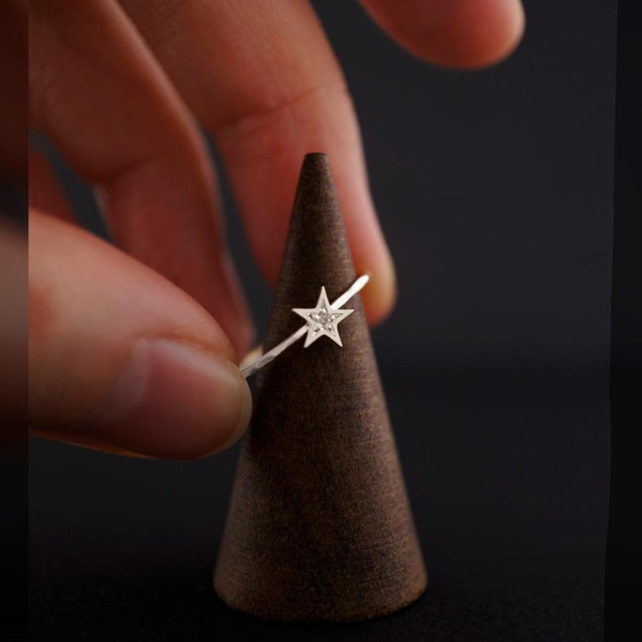 Star Ring-Silver