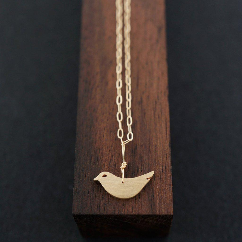 BABY BIRD NECKLACE-AF HOUSE