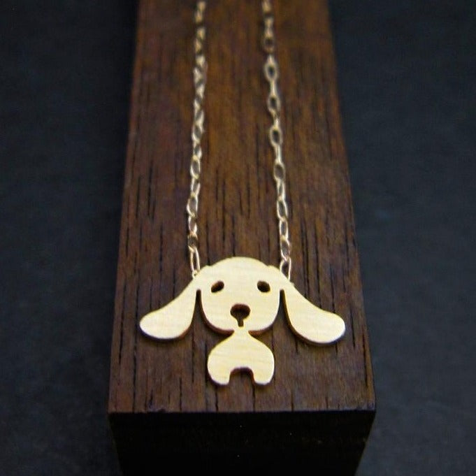 Beagle Necklace-AF HOUSE