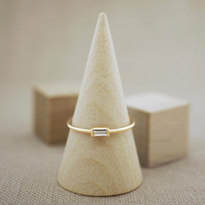 Baguette Diamond Ring 14KYG - AF HOUSE