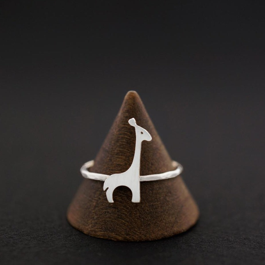 Load image into Gallery viewer, Giraffe Ring-Silver