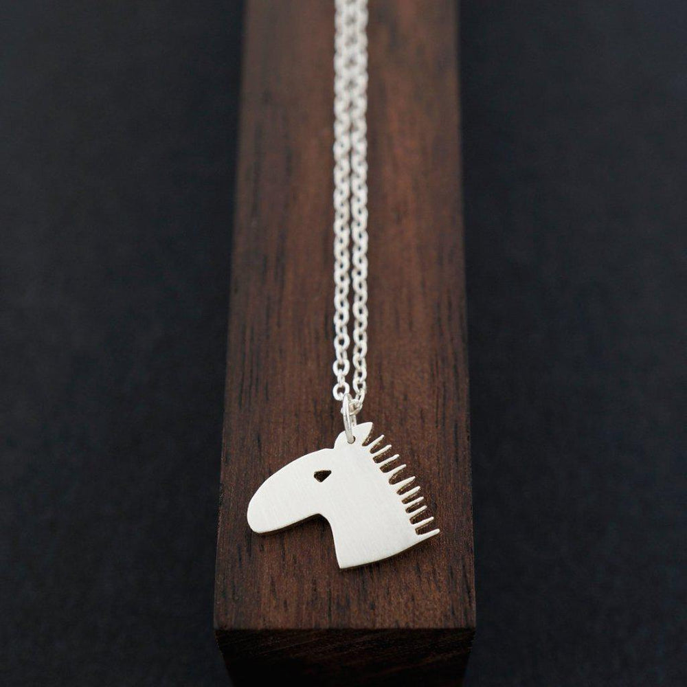 Horse Head Necklace-AF HOUSE