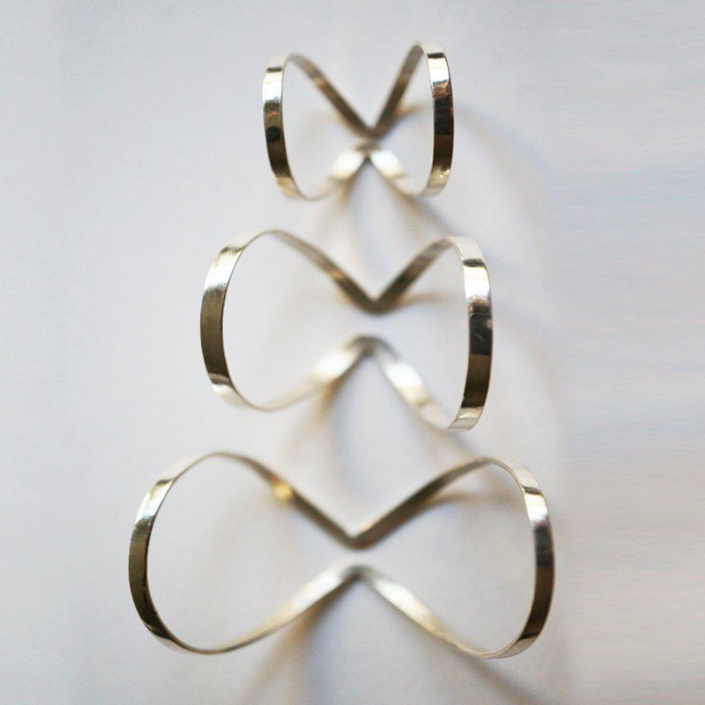 INFINITY 3 KNUCLE RING SET-AF HOUSE