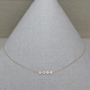 KIARA BAR NECKLACE 4H-AF HOUSE