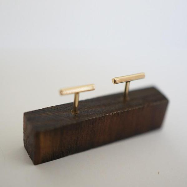 MINI BAR STUD EARRINGS-AF HOUSE