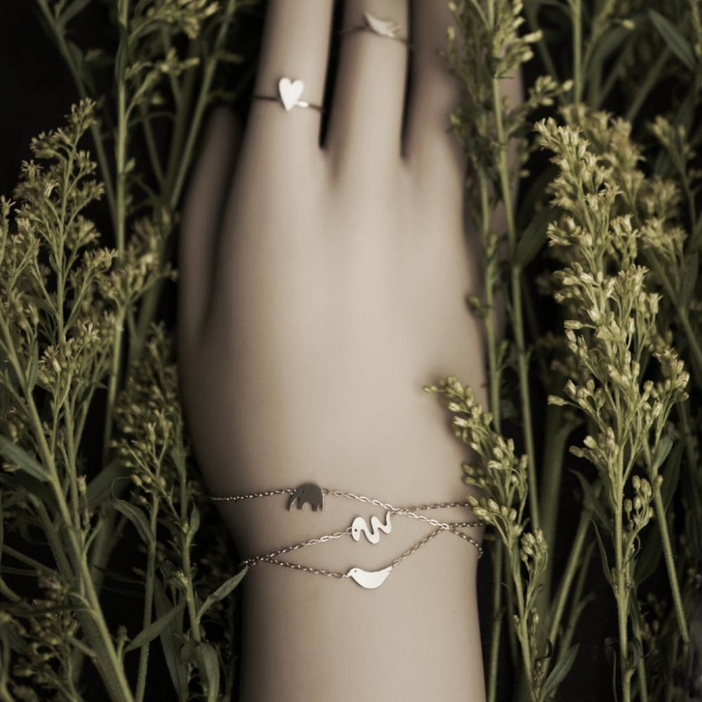 Miniature Animal Chain Bracelet | AF HOUSE