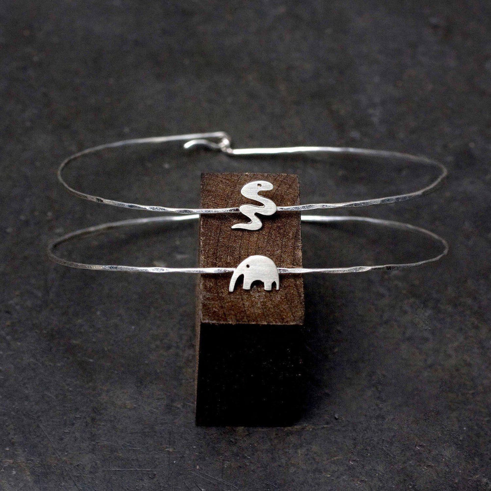 Miniature Animal Wire Bracelet