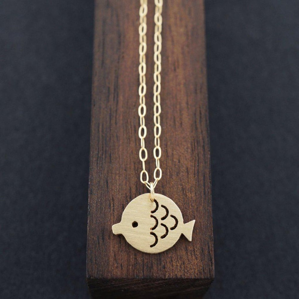 Mother Fish Necklace