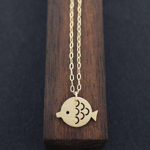 MOTHER MAMBO FISH NECKLACE-AF HOUSE