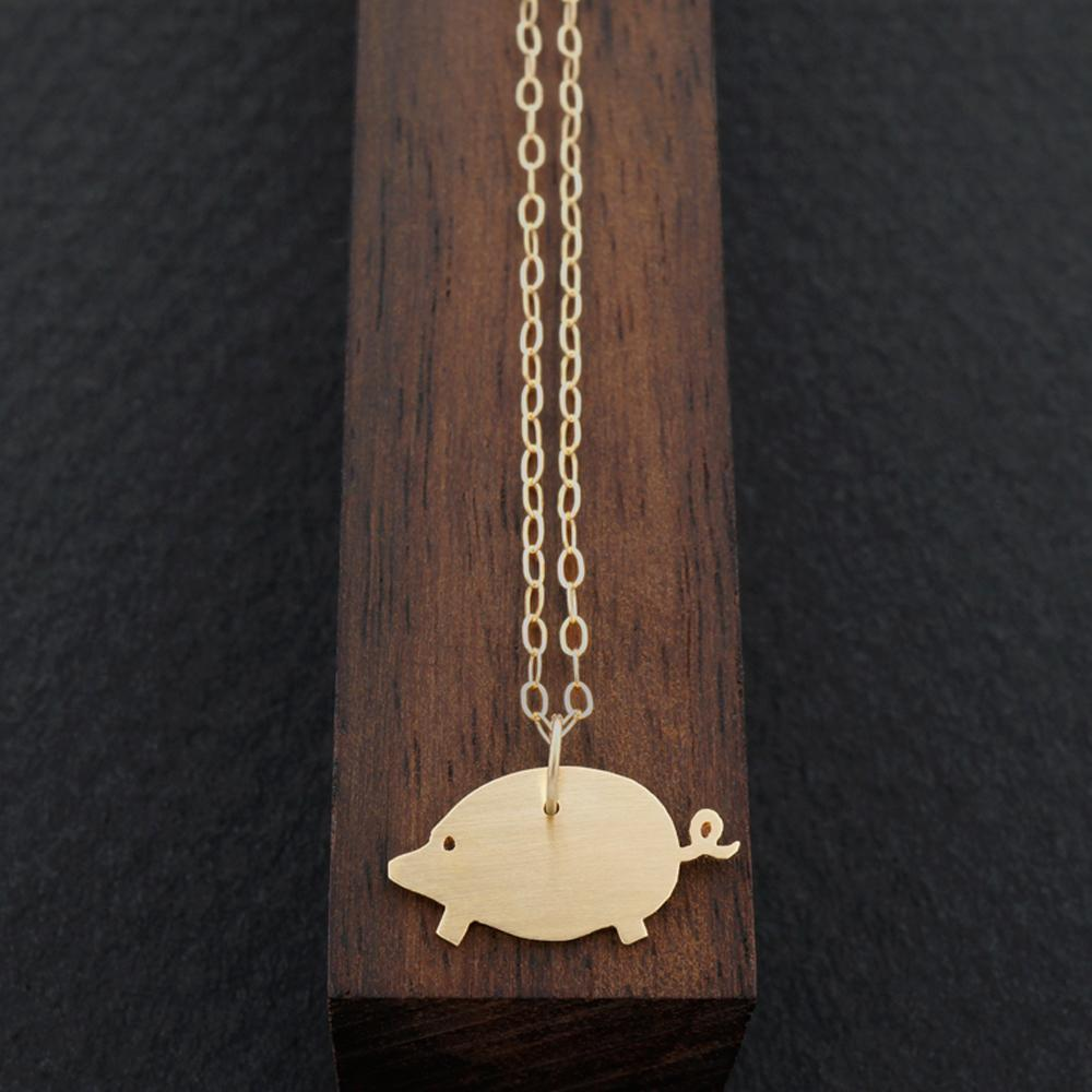 Load image into Gallery viewer, Pig Necklace-AF HOUSE