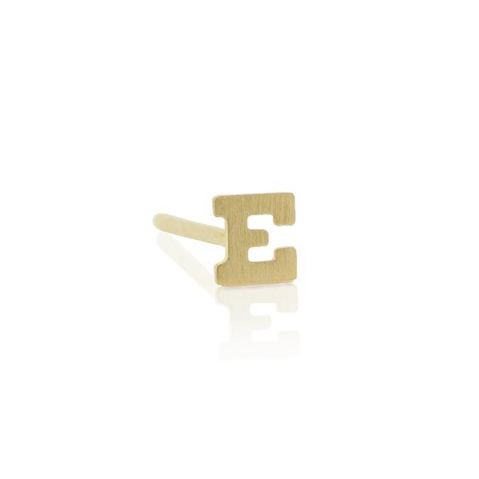 XSmall LETTER STUD EARRING-AF HOUSE