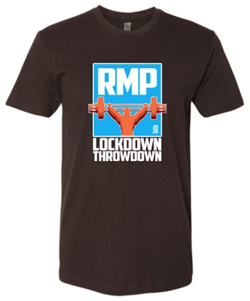 Lockdown Throwdown Tee (black)