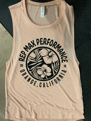 Summer Tank Women's Peach