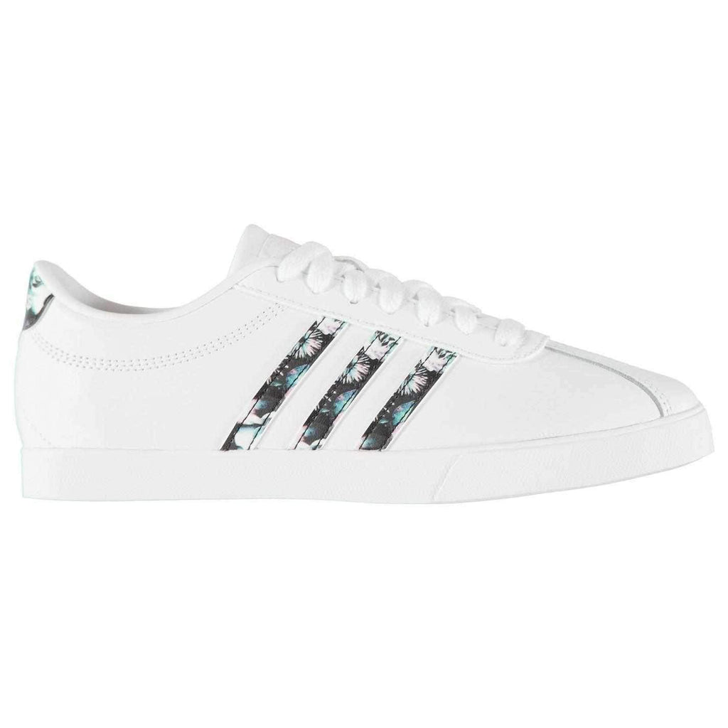 adidas leather trainers womens