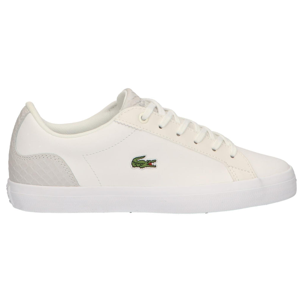 innovative design new design popular brand Lacoste Trainers For Womens White/Grey - Tennis   Lacoste Shoes ...