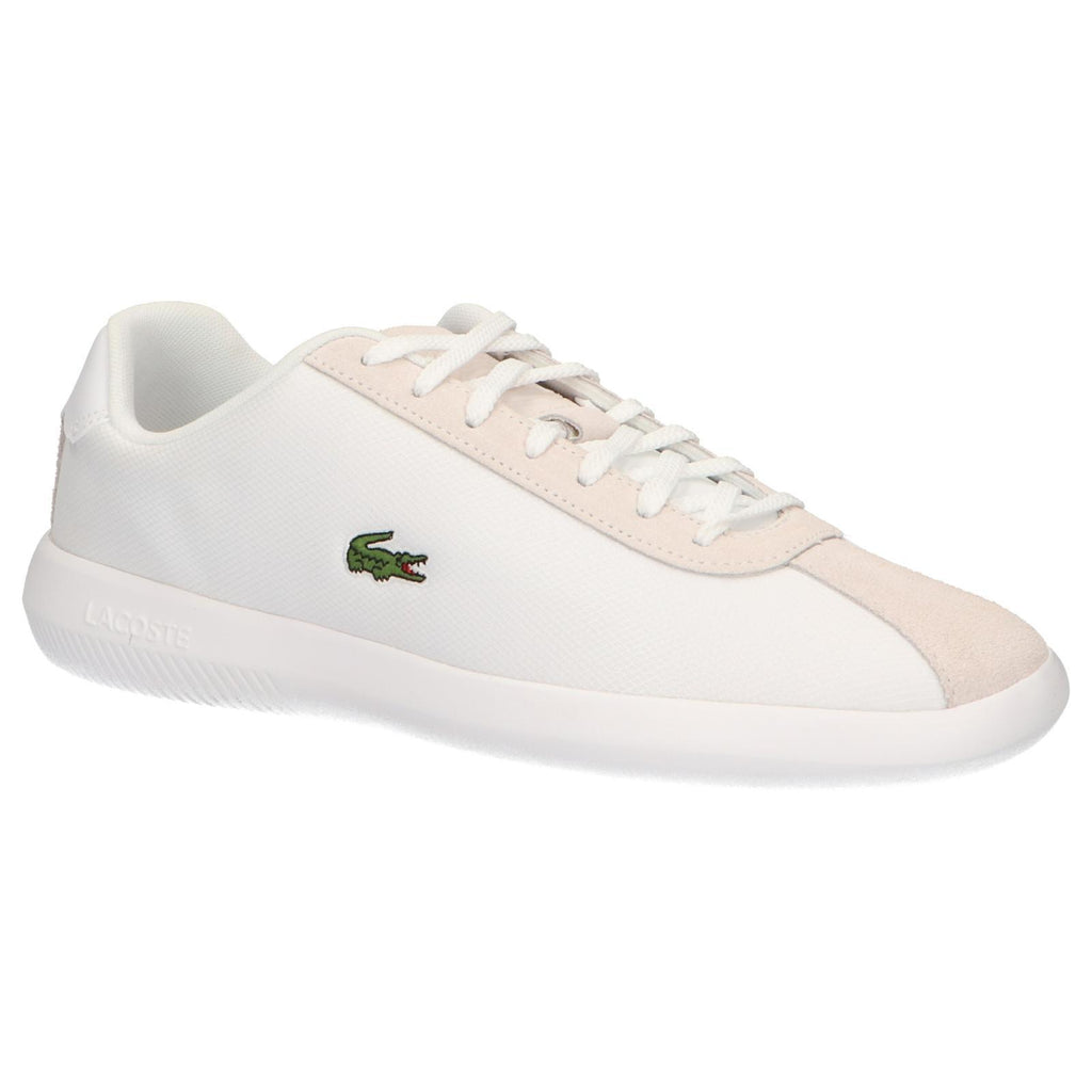 white mens lacoste trainers - 64% OFF