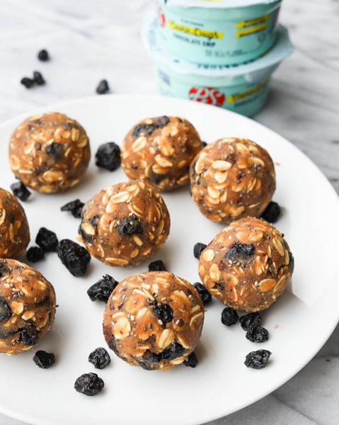 Blueberry Muffin Cookie Dough Bites