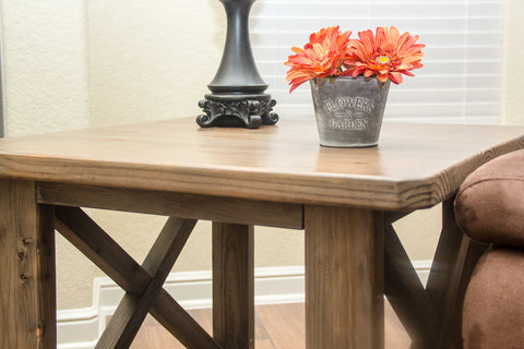 Weathered End Tables