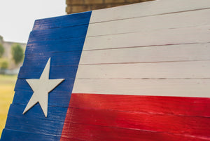 Reclaimed Texas Flag