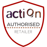 Action authorised retailer badge