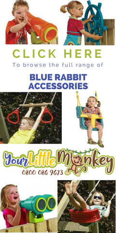 Blue Rabbit Climbing Frame Accessories - Your Little Monkey
