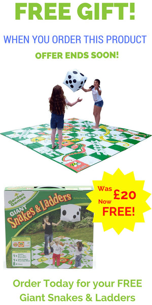 Your Little Monkey Free Gift - Giant Snakes & Ladders