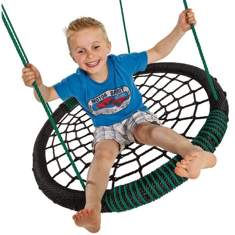 Blue Rabbit Nest Swing OVAL - Your Little Monkey