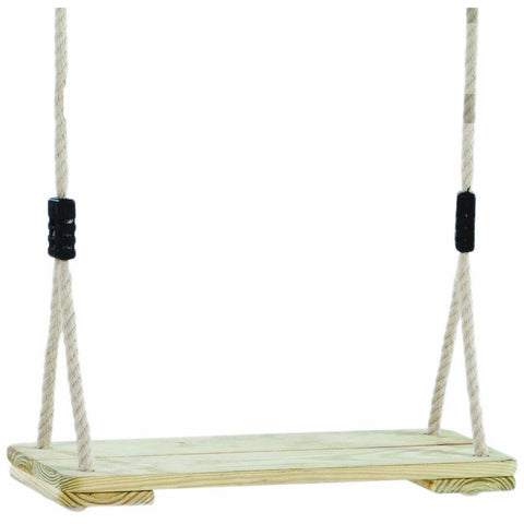 Garden Games Pine Wooden Swing Seat - PH Rope ATJE20 Buy Online - Your Little Monkey
