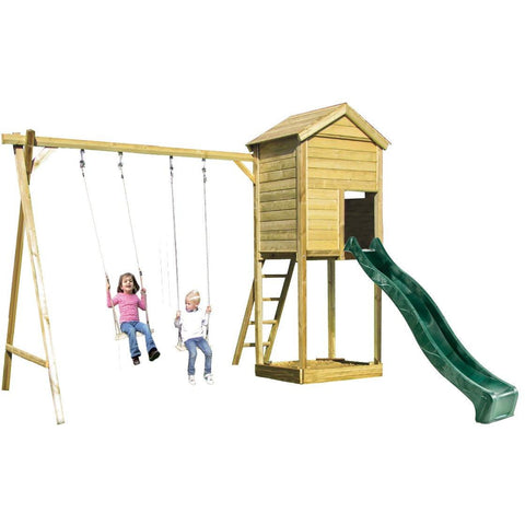 Action Monmouth Lodge Climbing Frame (ATJE278) + FREE GIFT Buy Online - Your Little Monkey