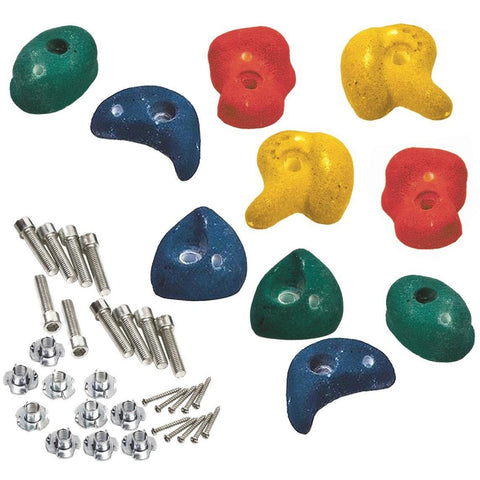 Garden Games Climbing Stones (5 green with fixings) - NEW ATJE53 Buy Online - Your Little Monkey