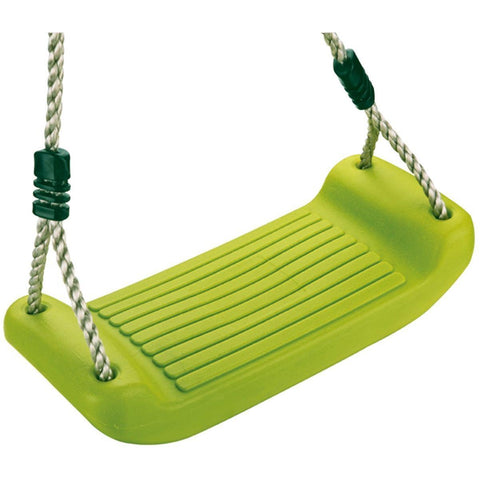 Garden Games Plastic Swing Seat Apple Green - PP Rope K110.001.005.001 Buy Online - Your Little Monkey
