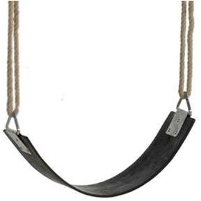 KBT Swing Seat Wrap-around (Black Rubber) - PH Rope ATJE10 Buy Online - Your Little Monkey