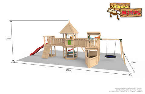 Cheeky Monkey Play Park 2