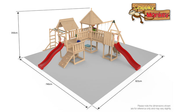 Cheeky Monkey Play Park 3