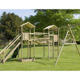 Action Monmouth Twin Towers Climbing Frame (ATJE277) + FREE GIFT Buy Online - Your Little Monkey