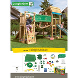 Jungle Gym Bridge Module T450-240 Buy Online - Your Little Monkey