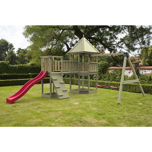Cheeky Monkey Corner Unit Kids Wooden Climbing Frame Buy Online - Your Little Monkey