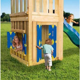 Jungle Gym Casa add-on (Play House) (T450-245) Buy Online - Your Little Monkey
