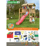 Jungle Gym PlayHouse Grow with Me Xtra Large Playhouse (T430-251) Buy Online - Your Little Monkey