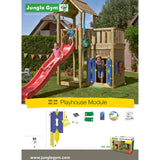 Jungle Gym House add-on (Play House) (T450-245) Buy Online - Your Little Monkey