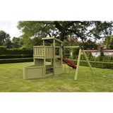 Cheeky Monkey Tug Boat Kids Wooden Climbing Frame Buy Online - Your Little Monkey