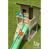 Blue Rabbit Beach Hut Climbing Frame + FREE GIFT - Your Little Monkey