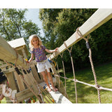 Blue Rabbit Bridge Climbing frame add-on - Your Little Monkey