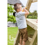 Blue Rabbit Challenger Climbing frame add-on - Your Little Monkey
