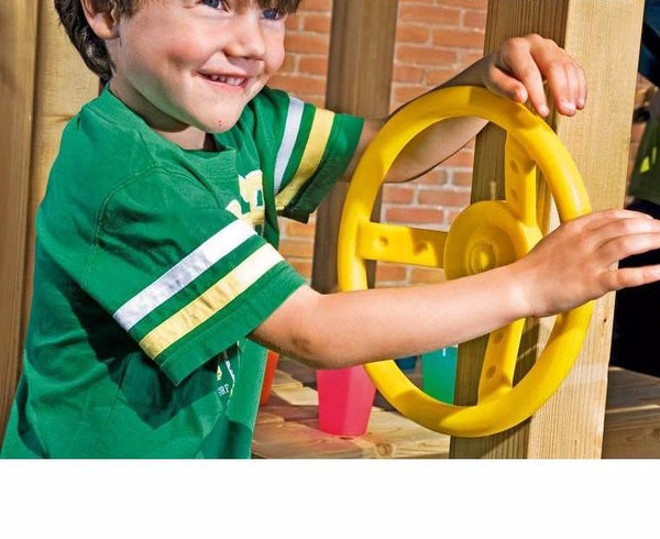 Jungle Gym Steering Wheel Yellow Accessory (201-080) Buy Online - Your Little Monkey