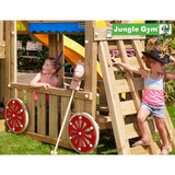 Jungle Gym Hut Climbing frame (T401-100) Buy Online - Your Little Monkey