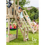 Blue Rabbit Steps Climbing frame add-on - Your Little Monkey