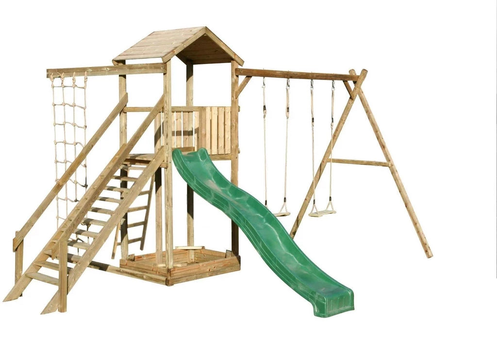 Action Climbing frame - 2 swings
