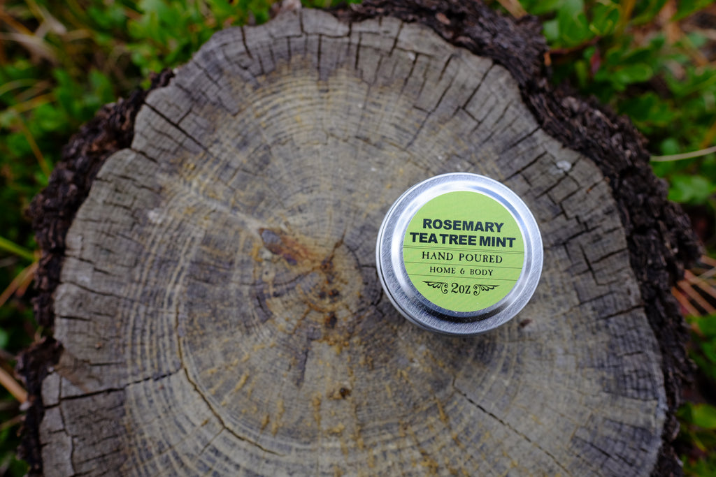 Rosemary Tea Tree Mint Body Candle