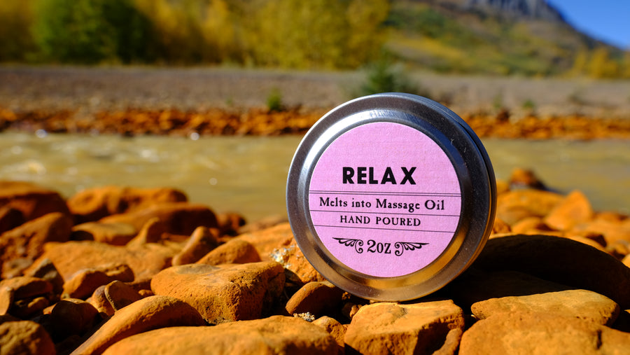 Relax Body Candle